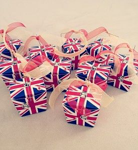 For my British-lovin' girl...British Party Favors!