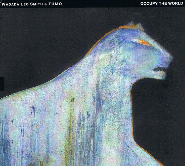 "2013 Wadada Leo Smith & TUMO - Occupy The World [TUM Records TUMCD037-2] artwork: Leena Luostarinen ""Sade (Rain)"" (1981) #albumcover #art #Jazz #music"