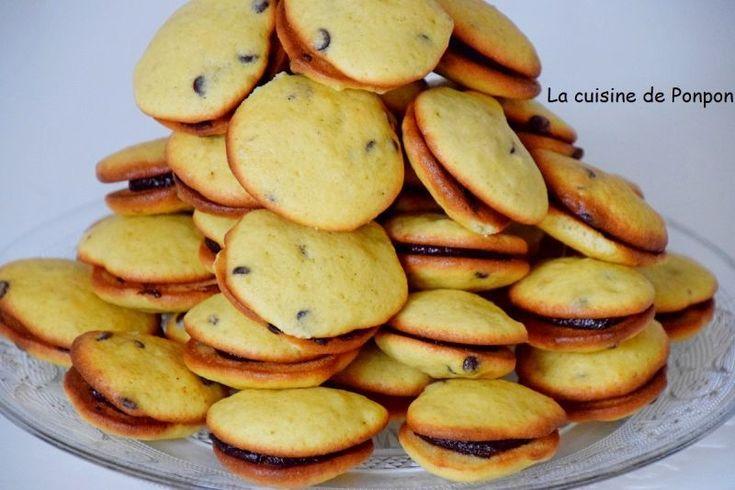 Biscuits à la banane aux pépites de chocolat, Recette Ptitchef