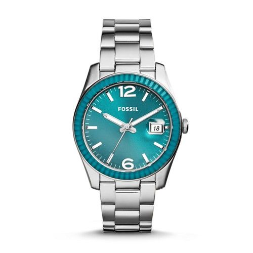 fossil blue watch how to change date