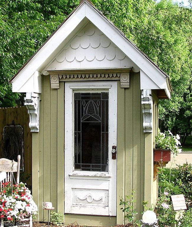 25 best ideas about shed playhouse on pinterest for Victorian garden shed designs