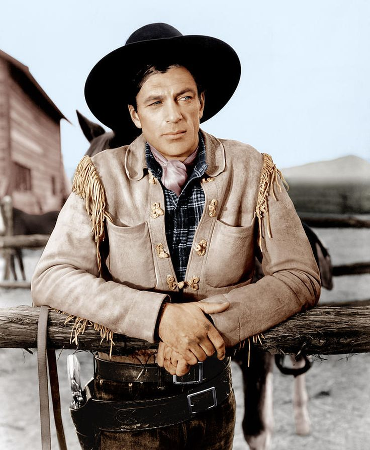 The Westerner, Gary Cooper, 1940..great movie.  Walter Brennan also stars as Judge Roy Bean