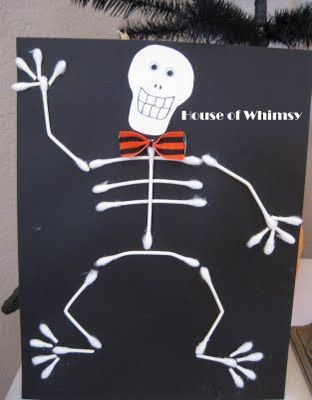 fun craft for kids to get in the halloween spirit