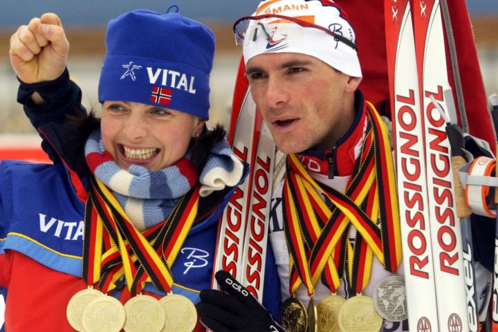 Raphael Poiree Raphal and Liv Grete Poire Sochi Winter Olympics 2014