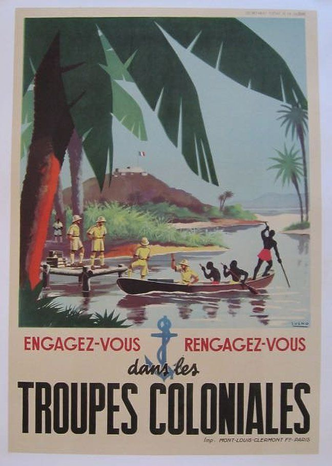 The Troupes coloniales or Armée coloniale, commonly called La Coloniale, were the military forces of the French colonial empire from 1900 until 1961.