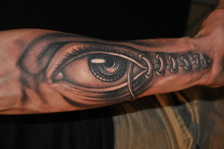 Tattoo by Piotr Wojciechowski, D3XS, Gliwice, Poland #eye https://www.facebook.com/d3xs.tattoo.orchestra/photos/a.177726618929547.30925.171113032924239/453456991356507/?type=3&theater