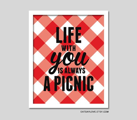 Etsy listing at https://www.etsy.com/listing/152444731/picnic-print-red-and-white-checkered