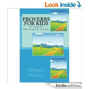 Proverbs for Kids: A Family Devotional Guide is on sale right now!
