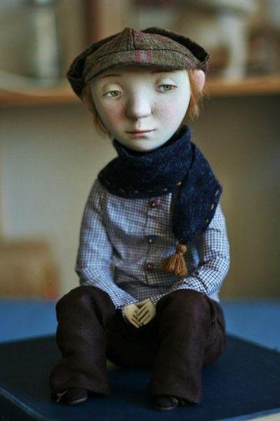 Куклы Марины Глебовой - Неправильный глагол