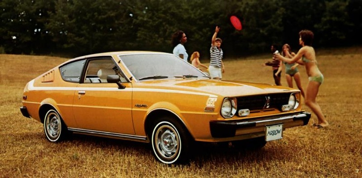 1976 Plymouth Arrow. Made in Japan by Mitsubishi. My first