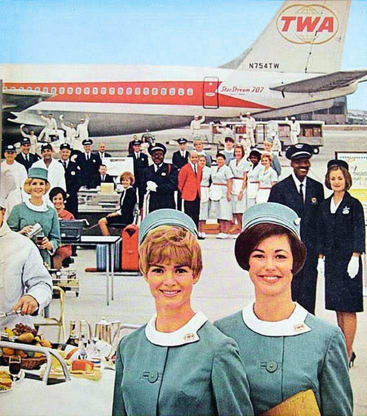 Best 1338 Retro Stewardess A Go Go Images On Pinterest