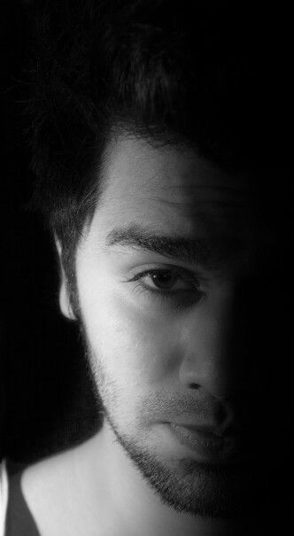 Black and white me! :D