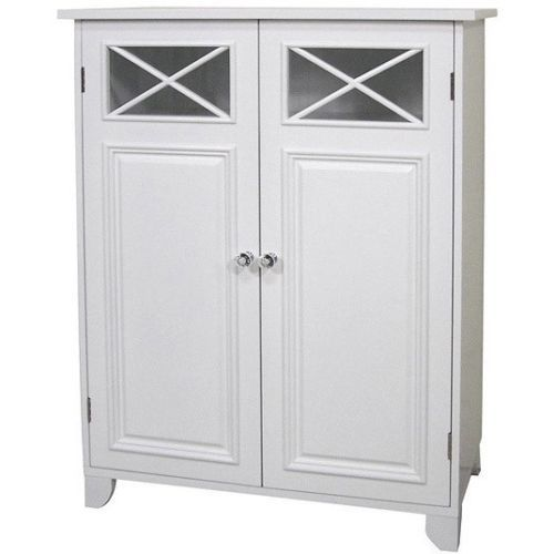 Detalles Acerca De Bathroom Storage Cabinet Utility Room Bath Freestanding Laundry Shelves Organize