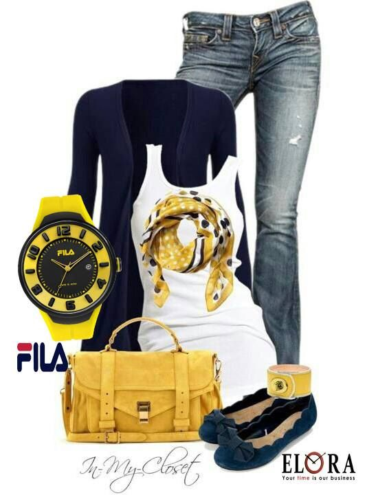 Look of the day!!!! Κίτρινο ρολοι FILA!! Δείτε την νέα ανοιξιάτικη συλλογή FILA! Βρείτε ένα εξουσιοδοτημένο συνεργάτη μας δίπλα σας!!! #fila #filawatches #filafashion #springstyle #filacollection #elora #elorawatches #watches