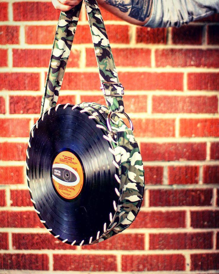 The Songbag vinyl record bag www.thesongbag.com