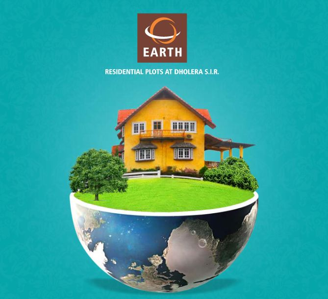 "Earth - Residential Plots at Dholera SIR - Investing Should be more like watching paint dry or watching grass grow"" - 100% carpet Area - NA, NOC, Title Clear Plots http://www.pegasusinfracon.com/"