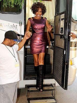 Whitney on tour