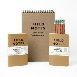 Field Notes Perfect Pack 2012, $20, now featured on Fab.