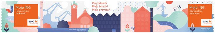 """다음 @Behance 프로젝트 확인: """"Mój Gdańsk / Moje ING"""" https://www.behance.net/gallery/43793575/Moj-Gdansk-Moje-ING"""