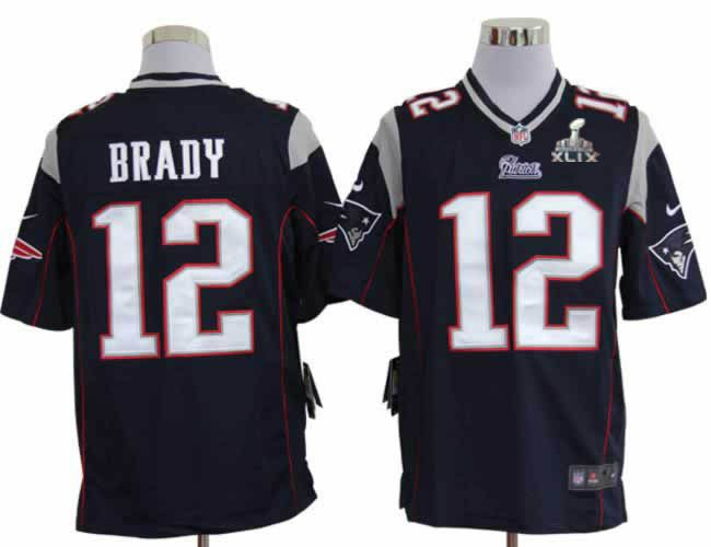 c72d6344b ... coupon code for fashion grey shadow elite jersey new england patriots  12 tom brady blue game