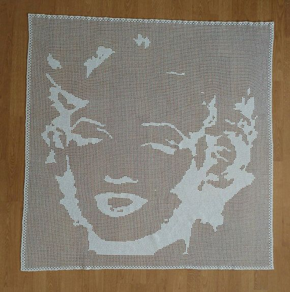 Hey, I found this really awesome Etsy listing at https://www.etsy.com/uk/listing/386286368/marylin-monroe-crochet-window-curtain