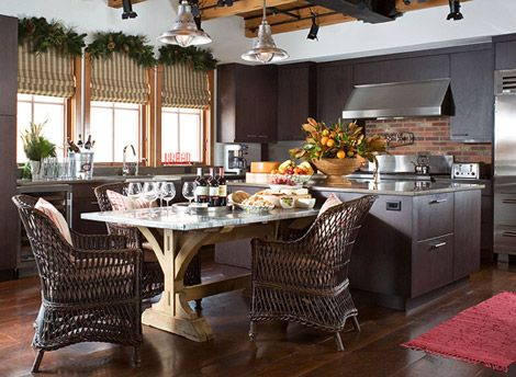 156 Best Holiday Kitchens Images On Pinterest   Baking Center, Christmas  Time And Kitchens