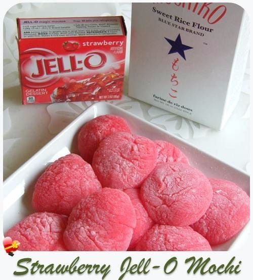 Try this easy and tasty strawberry Jello mochi recipe. Get more island style recipes here.