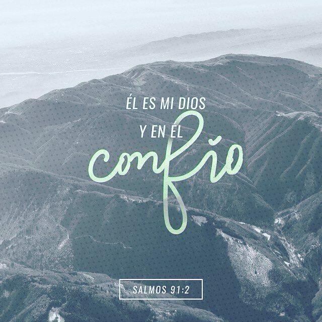 Él es nuestro refugio el Dios que nos da fuerzas el Dios en quien confiamos! Salmos 91:2 @youversion @ibvcp #buenosdias #islademargarita #venezuela