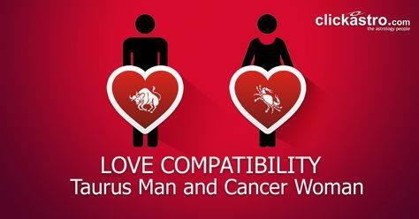 Taurus Male in Love With Cancer Female