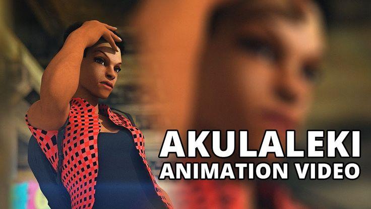 Dr Malinga ft TradeMark - Akulaleki ANIMATION VIDEO