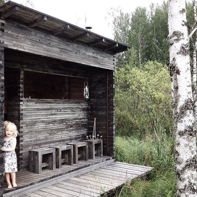 The original old sauna in Finland