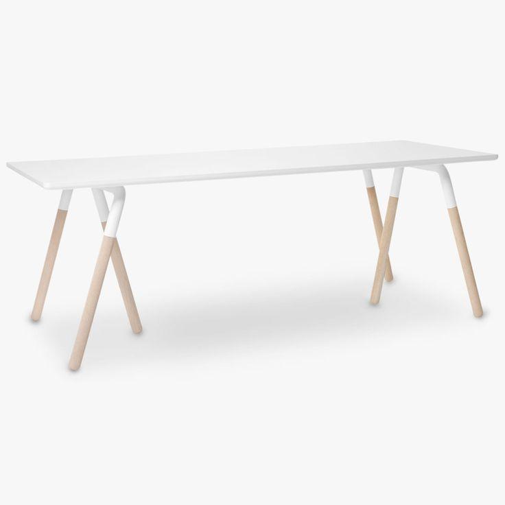 Raft Table NA2 White Oak