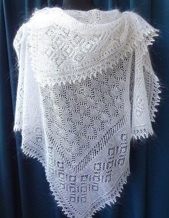 Оренбургский пуховый платок, Orenburg shawl