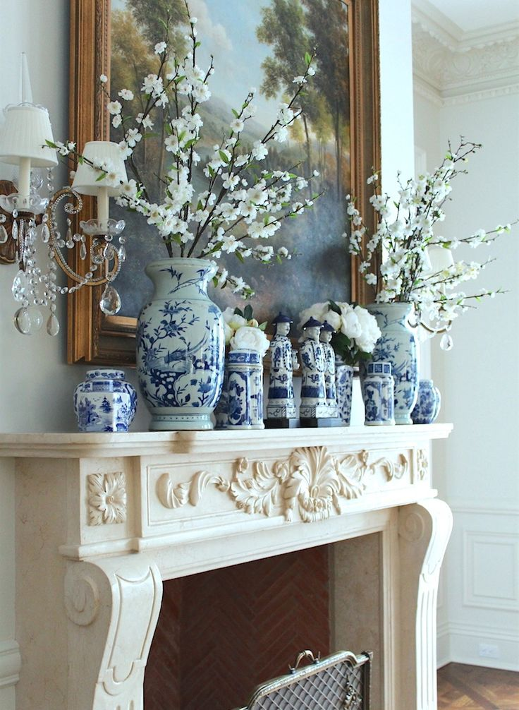 Blue And White Decor 370 best blue and white images on pinterest | blue and white