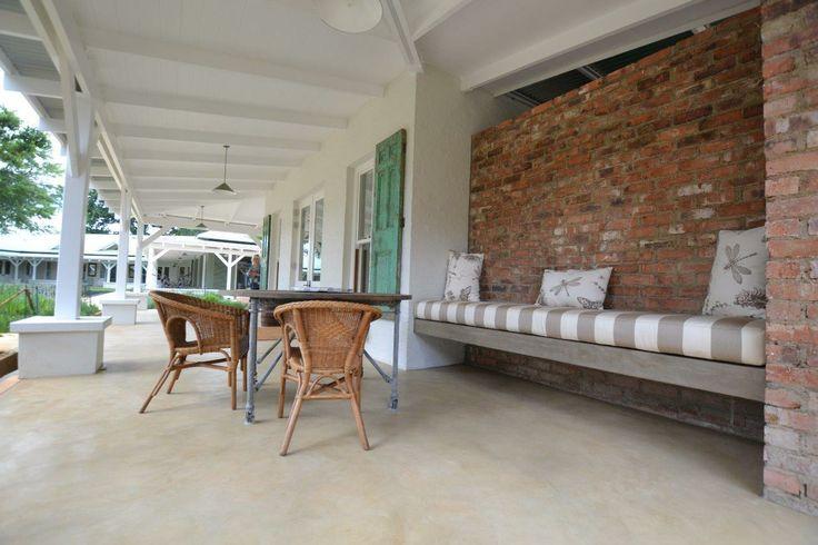 Cemcrete Colour Hardener cement-based seamless exterior floor finish