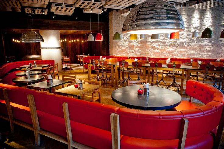 Gourmet Burger Kitchen, Bluewater makes use of the TRi-PIN-LED from Photec Lighting in the #interior #design #led #lighting #light
