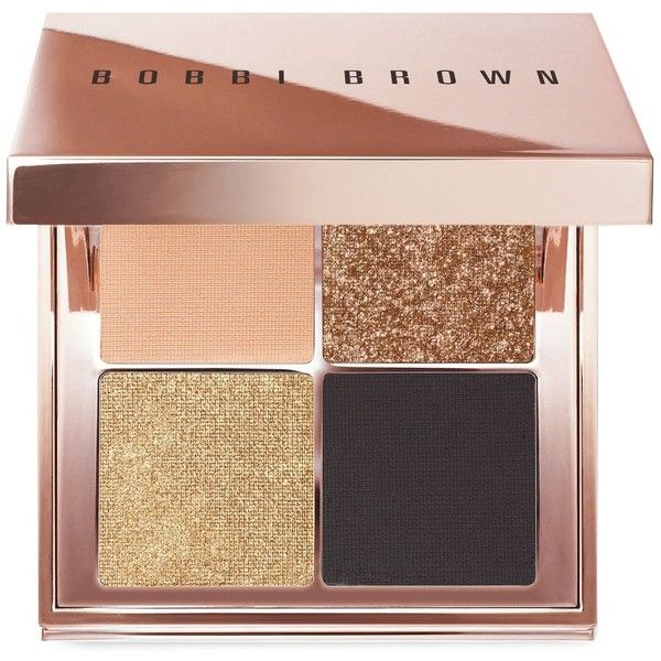 Bobbi Brown Sunkissed Gold Eye Palette, Beach Nudes Collection ($50) ❤ liked on Polyvore featuring beauty products, makeup, eye makeup, eyeshadow, beauty, eyes, cosmetics, fillers, gold and palette eyeshadow