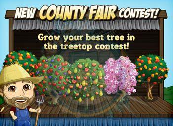 FarmVille County Fair Treetop Contest