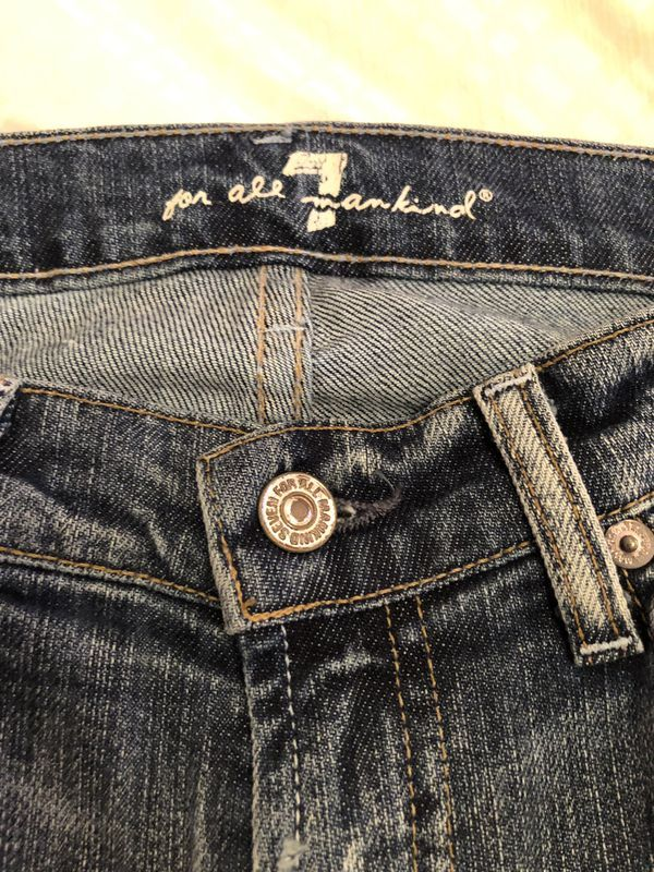 Jeans 7 For All Mankind Women S Size 25 Women Fashion How