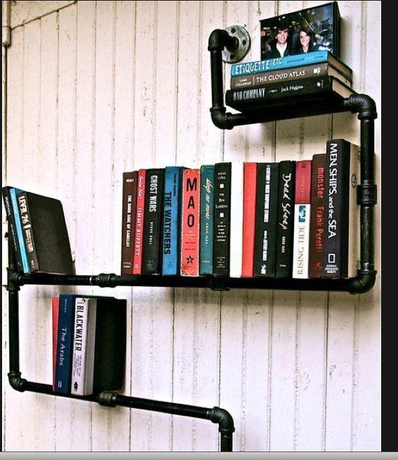 Originalísimo soporte para libros... adaptable a otros usos.