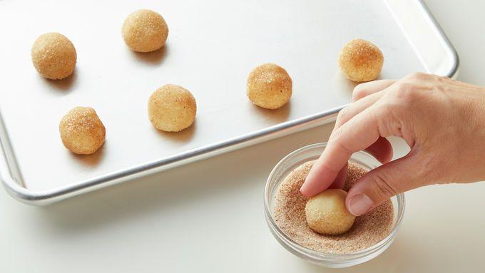 Eggnog Snickerdoodles Recipe Best Christmas Cookie Recipe Sugar Cookie Mix Cookies Recipes Christmas