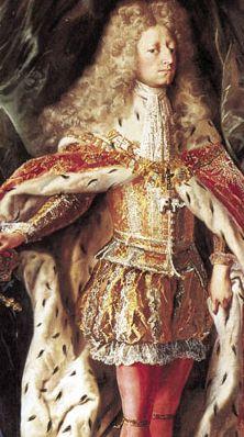 Frederick as King.