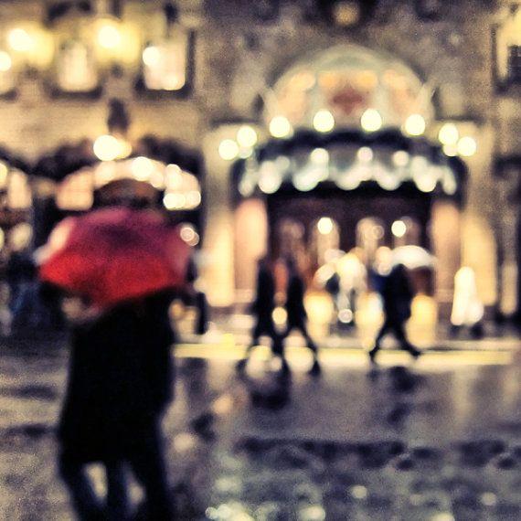 London Abstract  British Rain Vintage  Umbrella  UK by LondonDream, $28.00