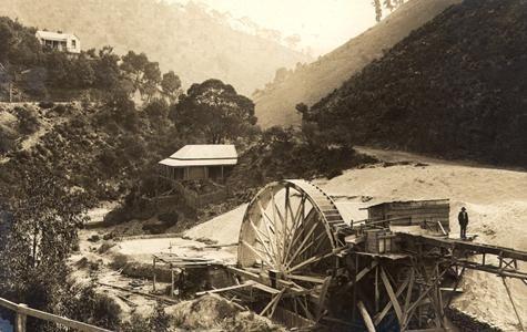 Sawmill, Walhalla, Victoria, 1905-1920 Museum Victoria, Australia