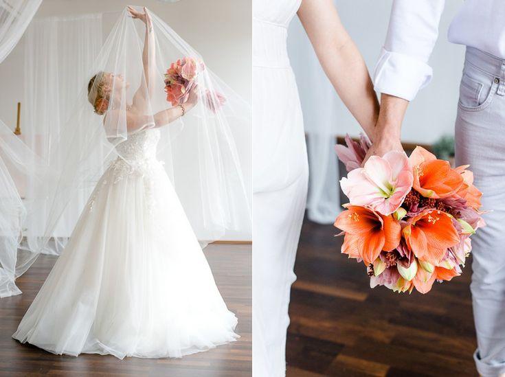Winterhochzeit blumen  15 besten brautstrauß Bilder auf Pinterest | Braut, Blumen und ...