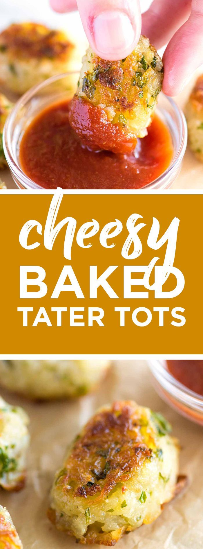 How to Make the Best Homemade Tater Tots -- These homemade tater tots are baked, not fried so they are easy. Say goodbye to that frozen bag! #potato #easydinner #vegetables #kidfriendly #homemade