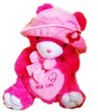 Bear Doll size jumbo,color  shocking pink,  material rasfur 20 mm Price $120  Shipping to around the world. #Boneka #Bear #Doll http://bonekabandung.com