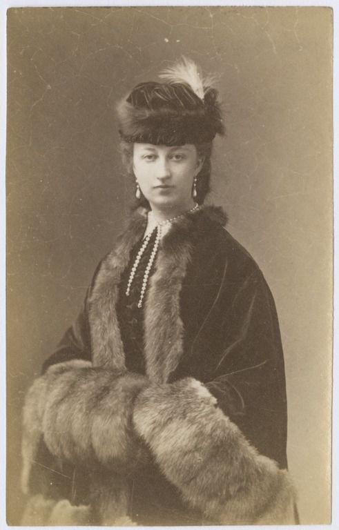 Walery Rzewuski, Portret Róży Tarnowskiej (1874)