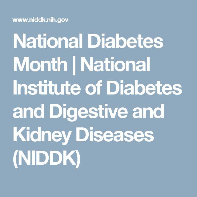 National Diabetes Month | National Institute of Diabetes and Digestive and Kidney Diseases (NIDDK)