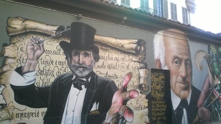 """Creativity and historic people"": street art in Milan"